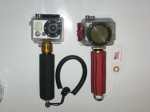 Gopro and into camera mounts